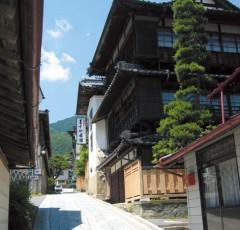 田沢温泉の温泉街