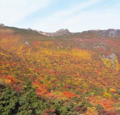安達太良山の秋