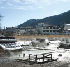 奥日光湯元温泉の源泉