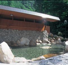 国民宿舎「有明荘」の露天風呂
