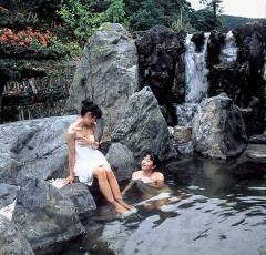 「星遊館」露天風呂