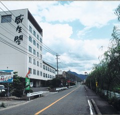 吉井温泉の街並み