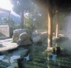 古湯温泉の露天風呂