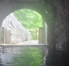 梅ヶ島温泉の源泉